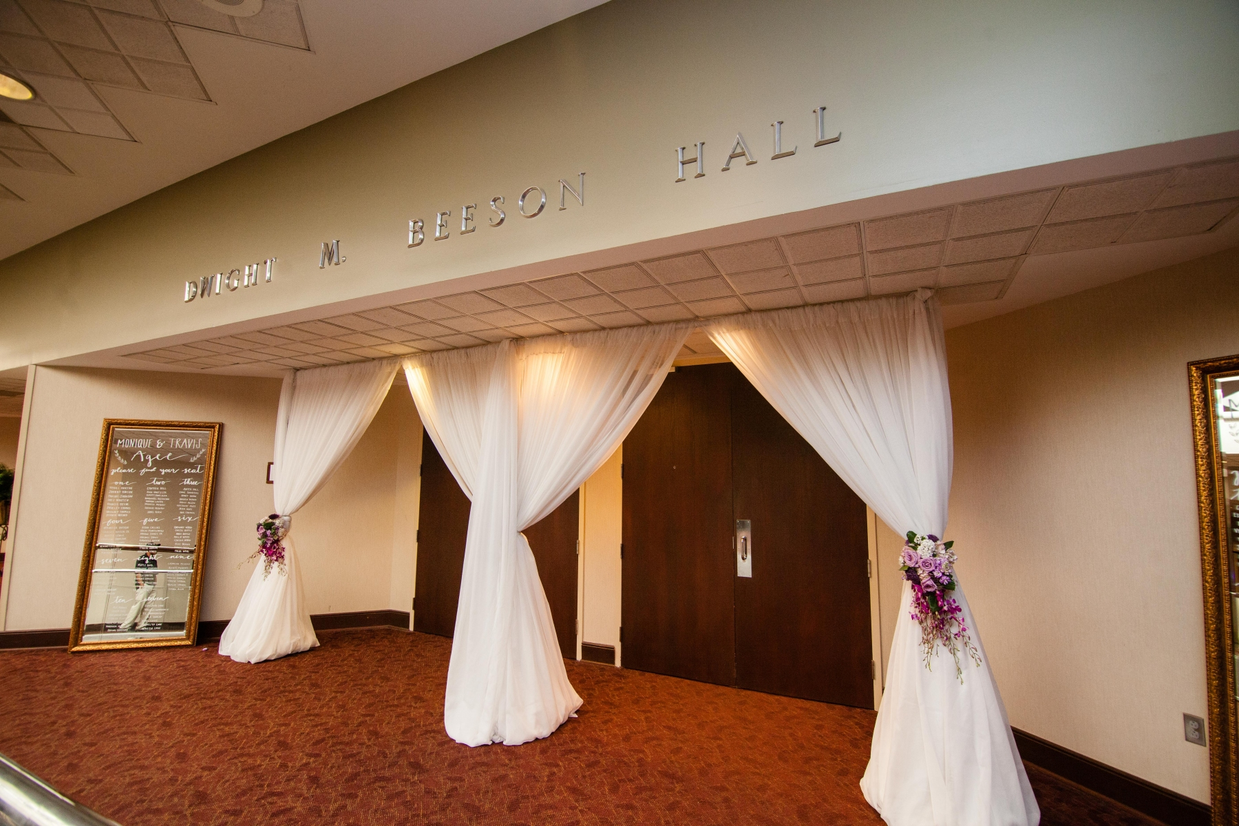 Doors to Beeson Hall
