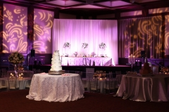 Lighting on Stage and Cake