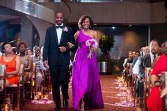 Wedding Party in Atrium