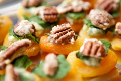 Apricot & Blue Cheese Bites