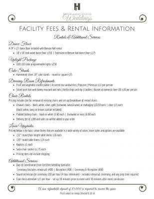 wedding-rental-information
