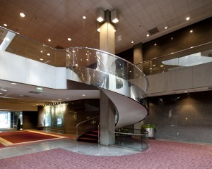 The Harbert Center Spiral Staircase