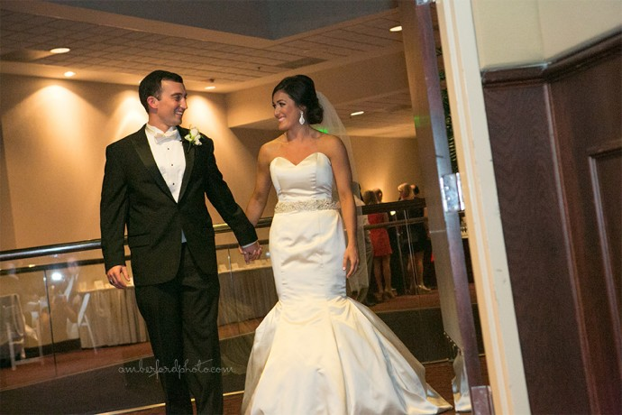 Harbert Center Bride and Groom