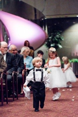 Harbert Center Wedding Ceremony Ring Bearer