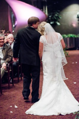 Harbert Center Wedding Ceremony Recessional
