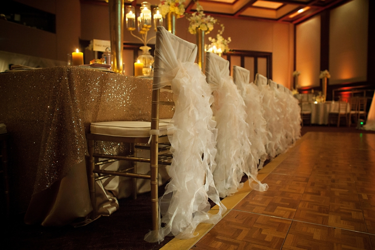 wedding ideas gold and white the harbert center 28203