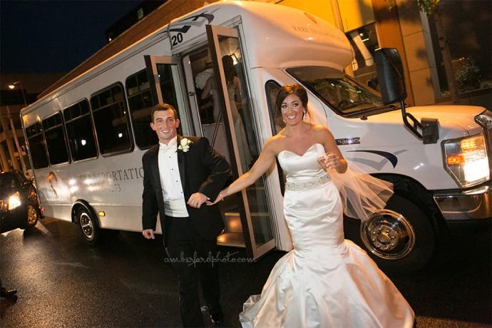 Harbert Center Bride and Groom