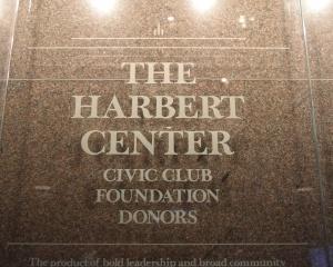 Harbert Center Entrance